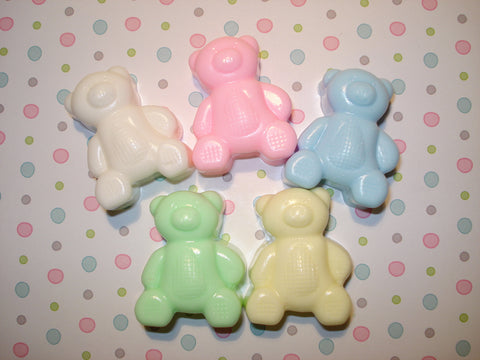 Teddy Bear Soap Favors-Qty 6