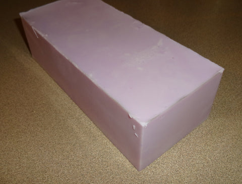 Vanilla Lavender Goat's Milk Soap Loaf - Wholesale