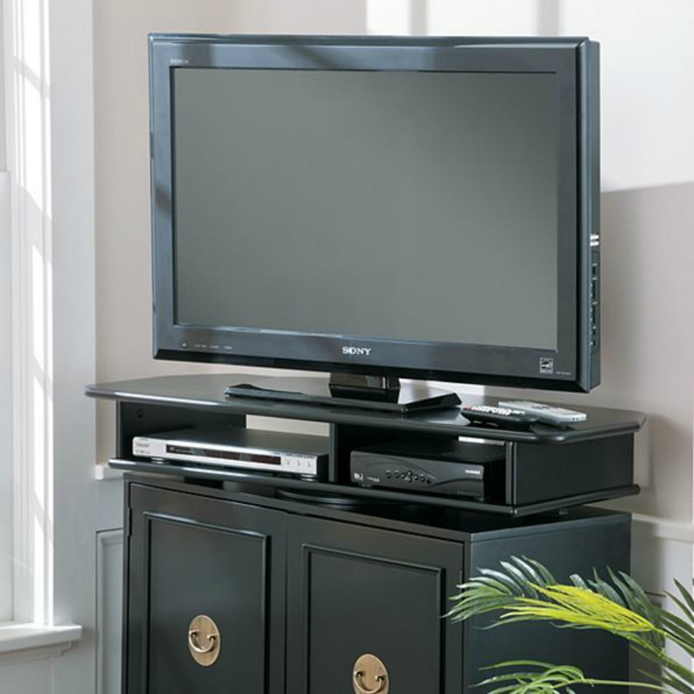 Wide Swivel Turntable TV Stand