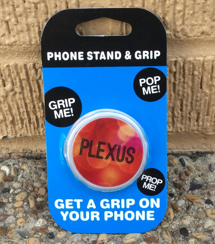 Phone grip and stand  #3 Red/Orange Plexus