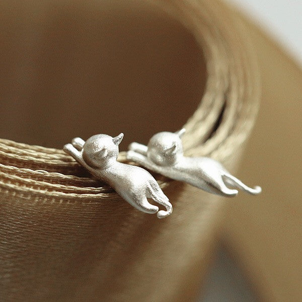 Hanging on Sterling Silver Earings