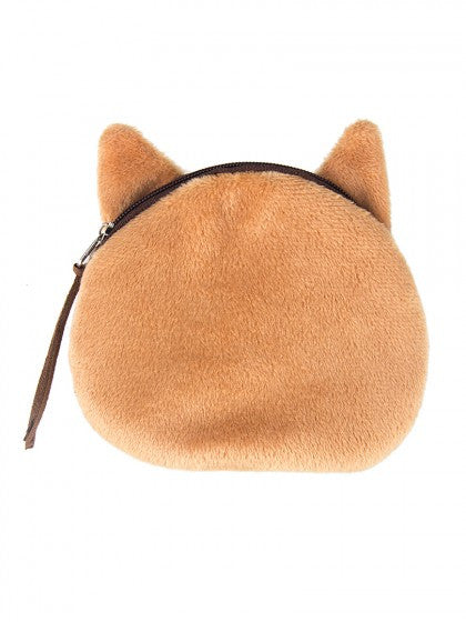 Yellow Cat Coin Purse