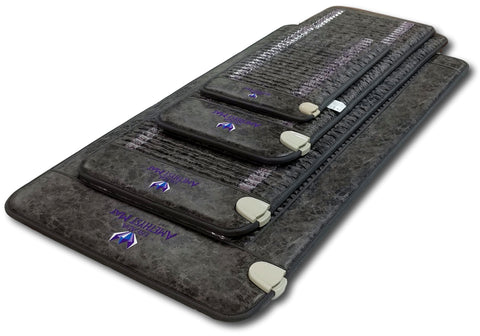 Grey Ereada PEMF Bio Magnetic Amethyst Mat Collection