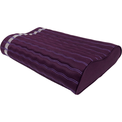 "Ereada® Amethyst Pillow 19""L x 12""W x 3,3""H Purple FIRM"