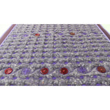 Amethyst Heating Pad with PEMF and Red Light LEDs
