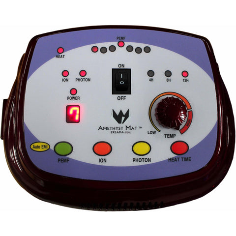 Controller for Purple Ereada FIR Amethyst Mats with PEMF and Red Light Functions Compact Pro, Professional and Single