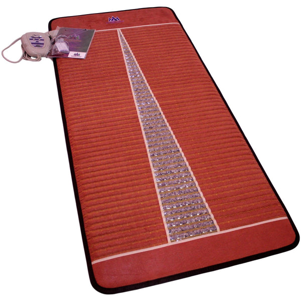 "MediCrystal™ Far Infrared Amethyst Mat PRO 71""L x 31""W reddish-brown"