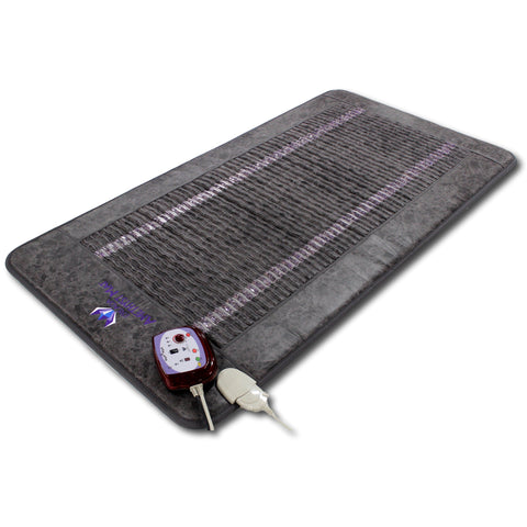 "Ereada® FIR PEMF Amethyst Mat SINGLE 75""L x 39""W (190 x 100 cm) Gray"