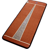 "MediCrystal™ Far Infrared Amethyst Mat Compact PRO 59""L x 24""W reddish-brown"