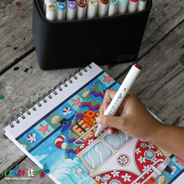 What Are The Best Markers For Adult Coloring Books? - ColorIt