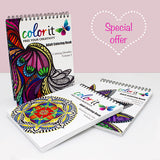 Each Day In February: Win A Set of 3 Coloring Books