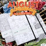 August 2019 ColorIt's New and Improved Journal Giveaway