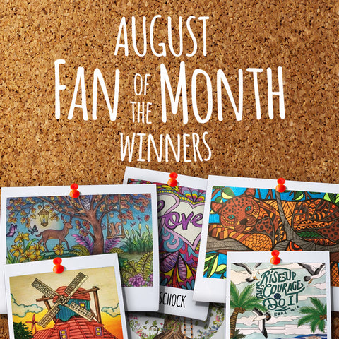 August Fan Of The Month Winners Did You