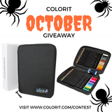 Each Day In October Win a Set of 24 Colored Pencils