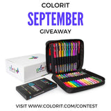 Each Day In September Win A Set of 48 Gel Pens