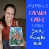 January Fan of the Month Contest Winner