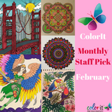 ColorIt Monthly Staff Picks - February