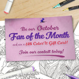 October Fan of the Month Contest