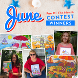June 2019 Fan of the Month Winners