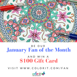 January Fan of the Month Contest