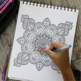Coloring Mandalas for Adults—Top Tips to Free Your Creativity