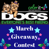 Each Day In March Win Dogs Coloring Book