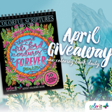 APRIL 2020 COLORIT'S COLORFUL SCRIPTURES GIVEAWAY