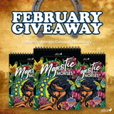 FEBRUARY 2021 MAJESTIC HORSES COLORING BOOK GIVEAWAY