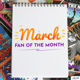 March 2019 Fan Of The Month Contest