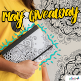 MAY 2020 COLORIT'S TANGLE DOODLE JOURNAL GIVEAWAY
