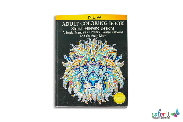 adult coloring book cindy elsharouni