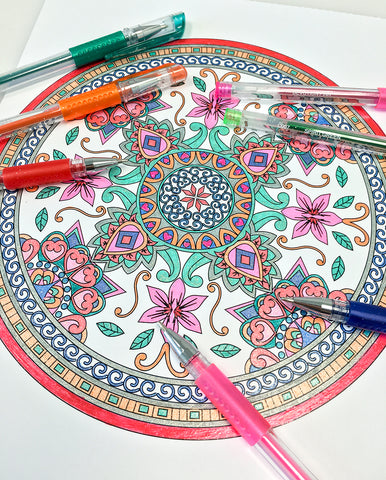Mandalas to Color Volume 1