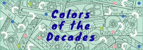 Decades Coloring Book