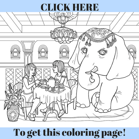 idiom coloring pages - photo#15