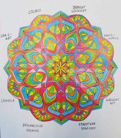 Coloring Pencil Art Projects Love