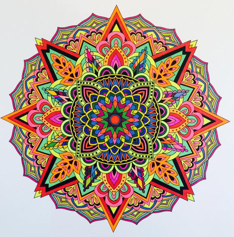 Coloring submission from Mandalas to Color