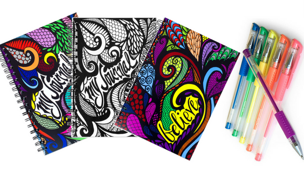 ColorIt Writing Journals