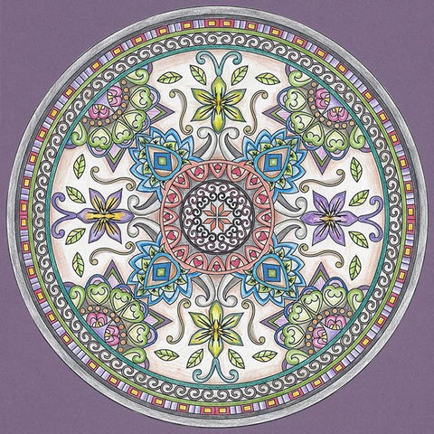 ColorIt Mandalas Volume 1 Adult Coloring Page