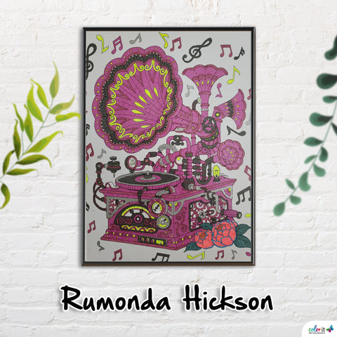 Rumonda Hickson Winning Submission
