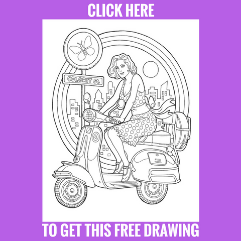 Free Scoot Drawing