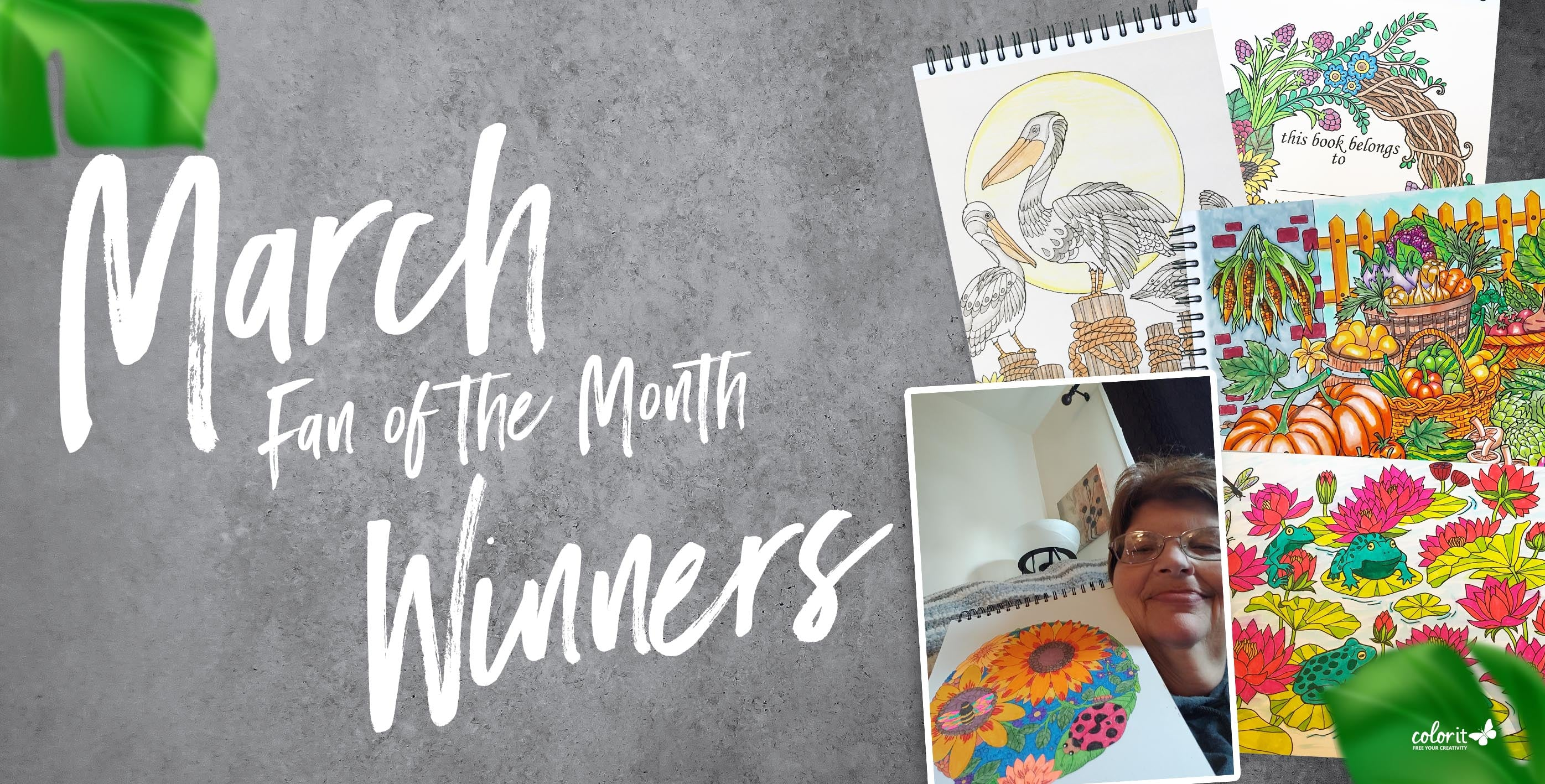 March 2020 Fan of the Month Winners