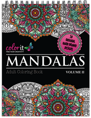 Mandalas Volume 2 Adult Coloring Book