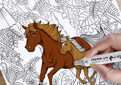 Majestic Horses Artist-Quality Paper
