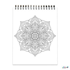 Mandalas To Color Volume IV open page