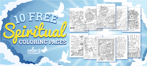 Get Inspired With These 10 Free Spiritual Coloring Pages Colorit