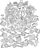 10 Free Christmas Sample Drawings (LIMIT ONE PER ORDER)