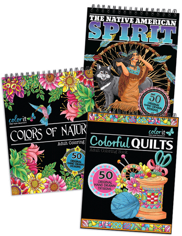 American Beauty Bundle - Colors of Nature, Colorful Quilts, Native American Spirit