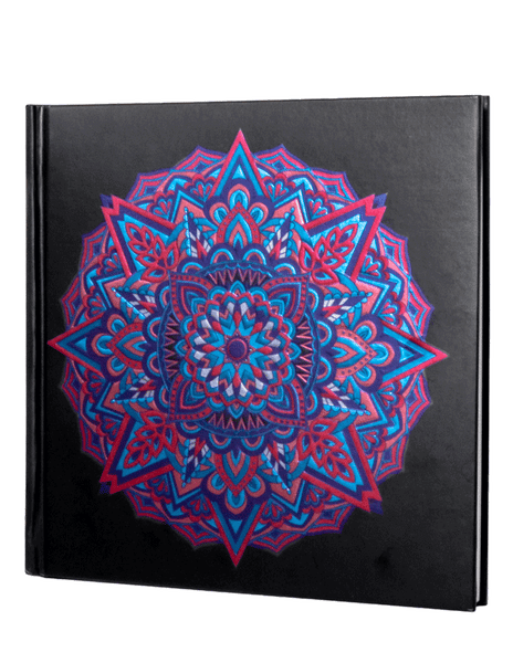 Mandala Sketchbook Pocket Journal 160 Plain Pages
