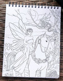 Colorful Unicorns Adult Coloring Book Illustrated By Terbit Basuki