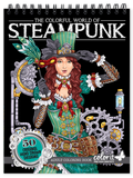ColorIt Colorful World of Steampunk adult coloring book